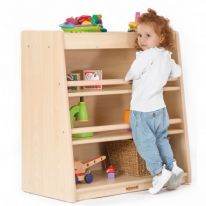 Toddlers 3 Shelf Cabinet